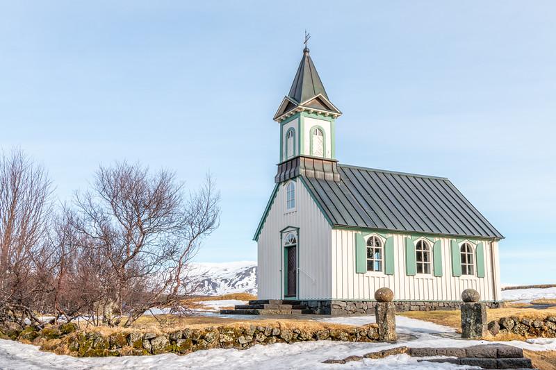 Þingvallakirkja, Iceland