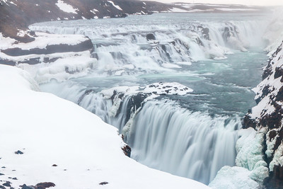 Gullfoss in the Winter