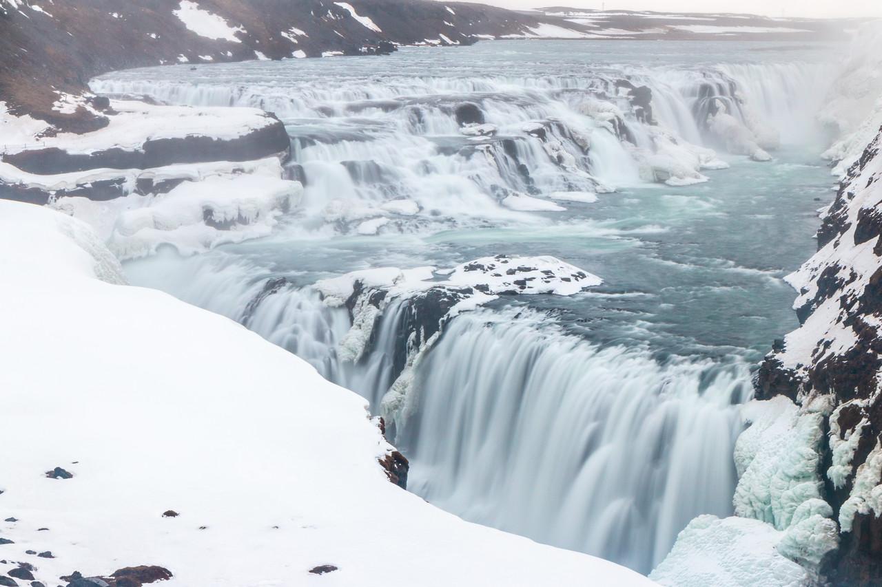 Gullfoss in the Winter