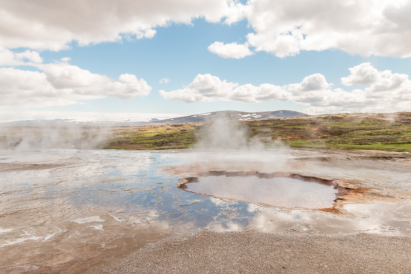 Geothermal activity, Hveravellir, Iceland