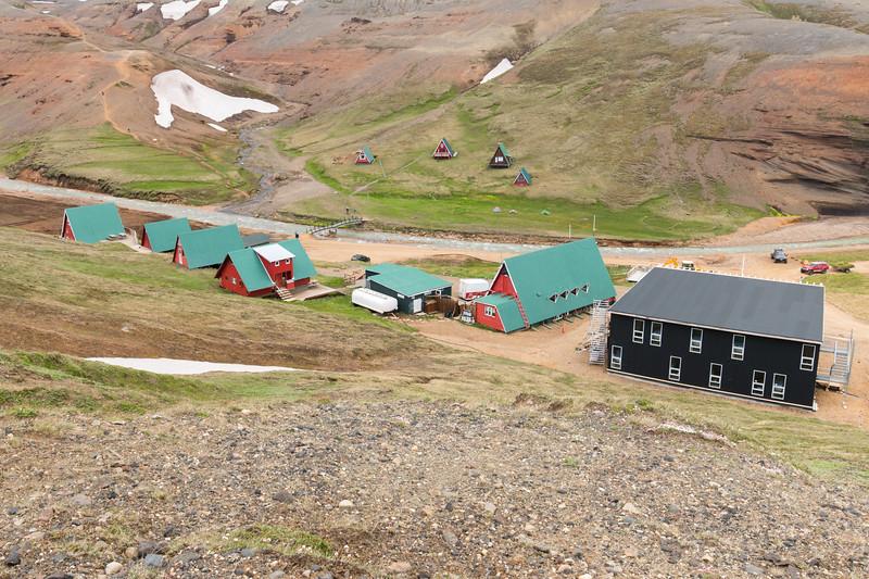 Kerlingarfjöll Huts, Iceland