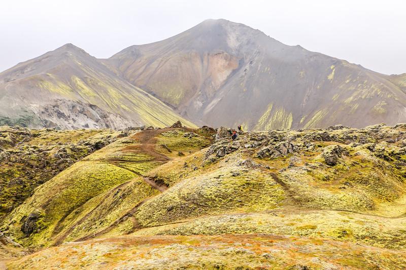 Stunning scenery at Landmannalaugar, Iceland