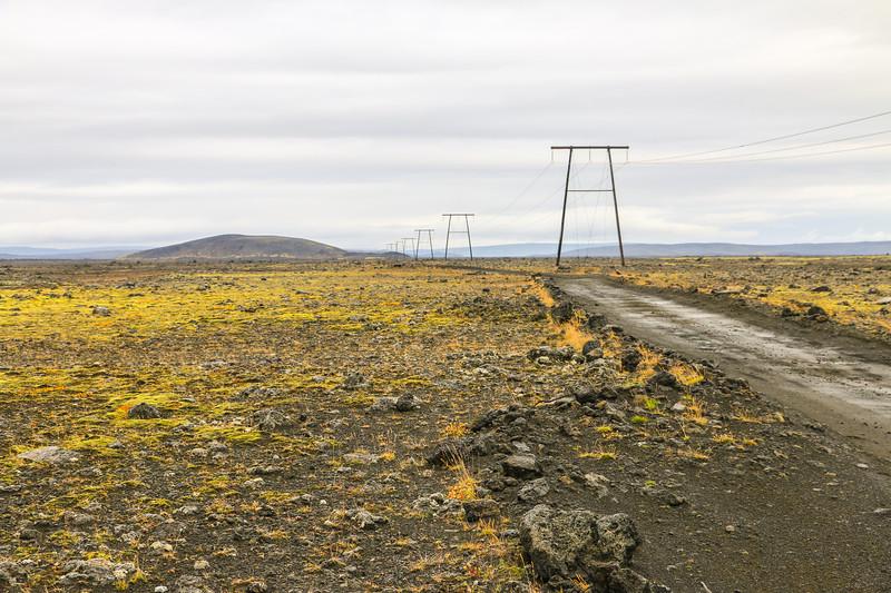 Road 208 to Landmannalaugar, Iceland