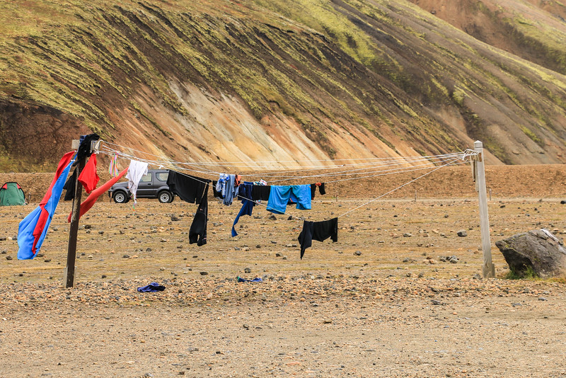 Campsite at Landmannalaugar, Iceland