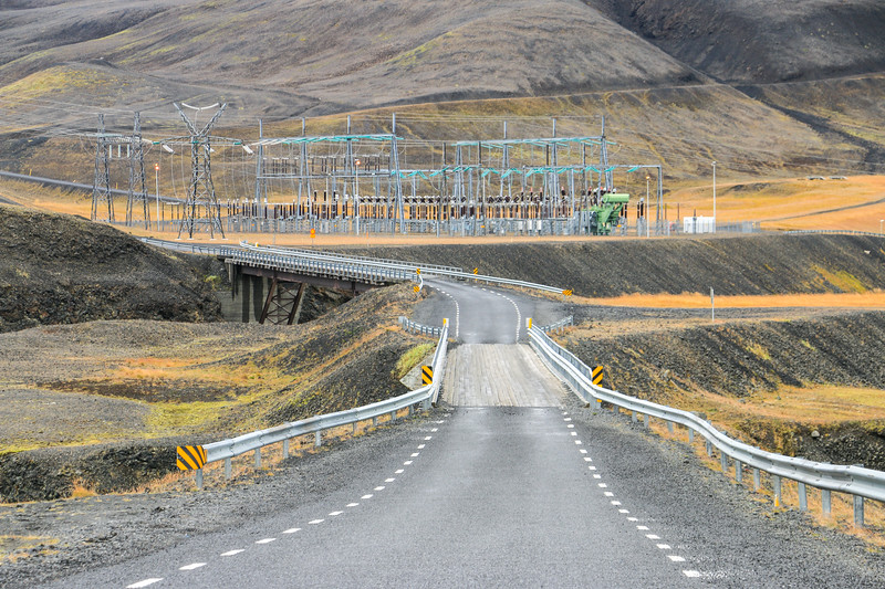 Power Stations, Highlands, Iceland