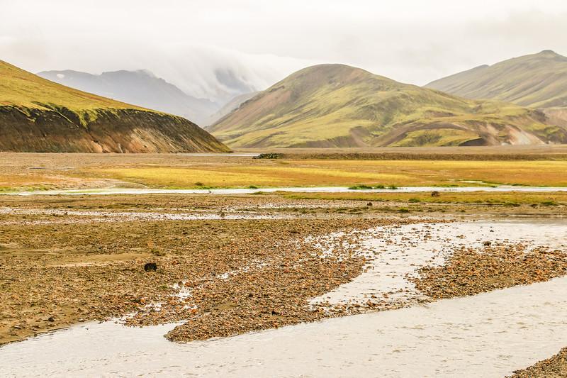 Reaching Landmannalaugar, Iceland