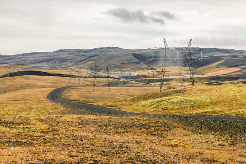 Powerlines, Highlands, Iceland