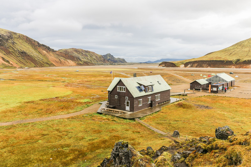 Landmannalaugar Hut, Iceland