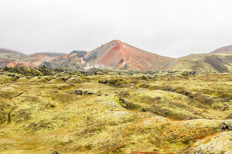 Hiking at Landmannalaugar, Iceland