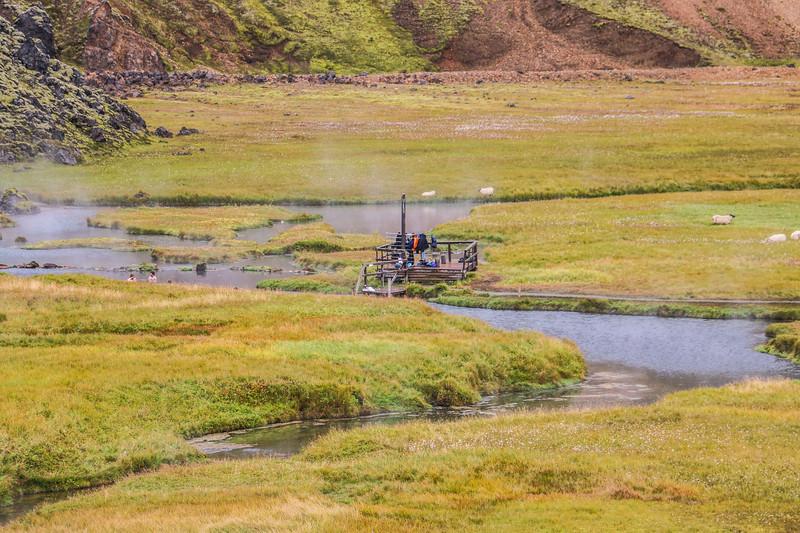 Landmannalaugar hot springs, Iceland
