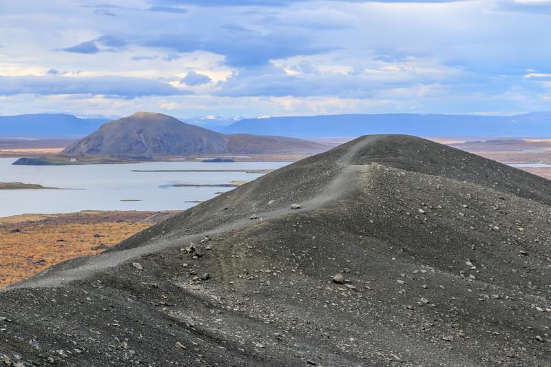 Hiking in Mývatn