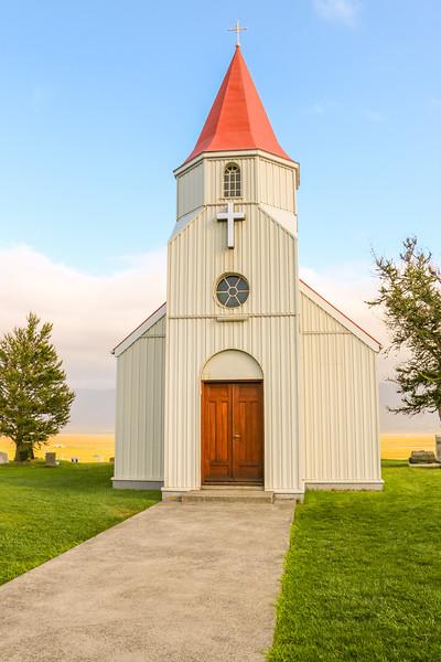 Glaumbæjarkirkja, Iceland