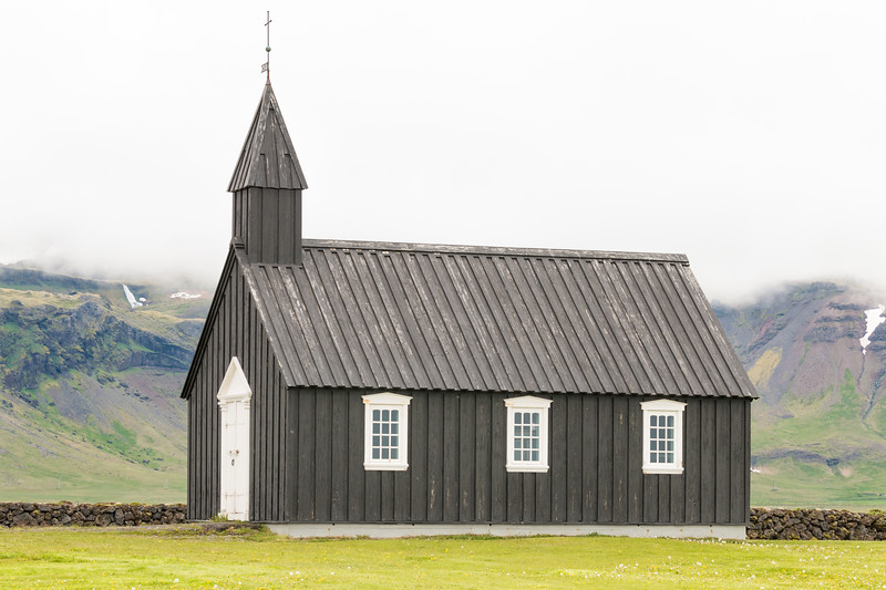 Búðakirkja, Iceland
