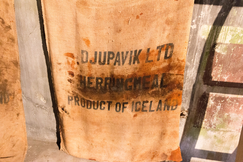 Djúpavík herring factory, Iceland