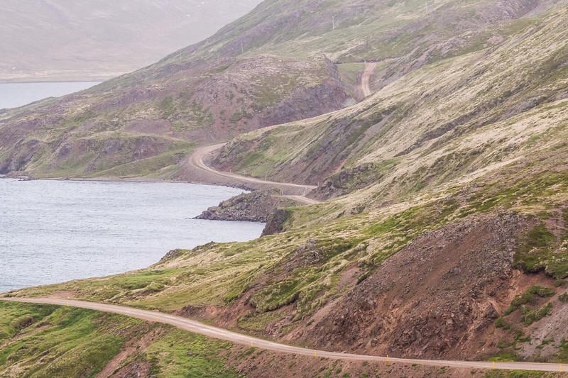 Driving Strandir, Iceland