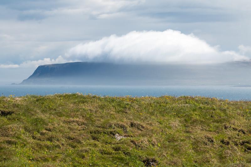 Amazing landscape, Grímsey, Iceland