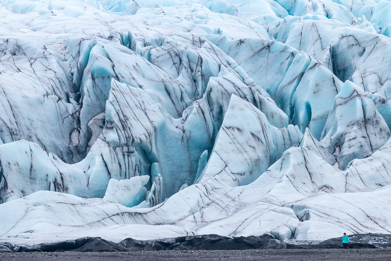 Glacier in Skaftafell