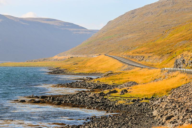 Westfjords road