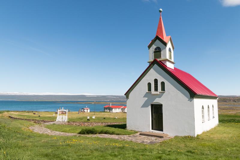 Vatnsfjarðarkirkja, Iceland
