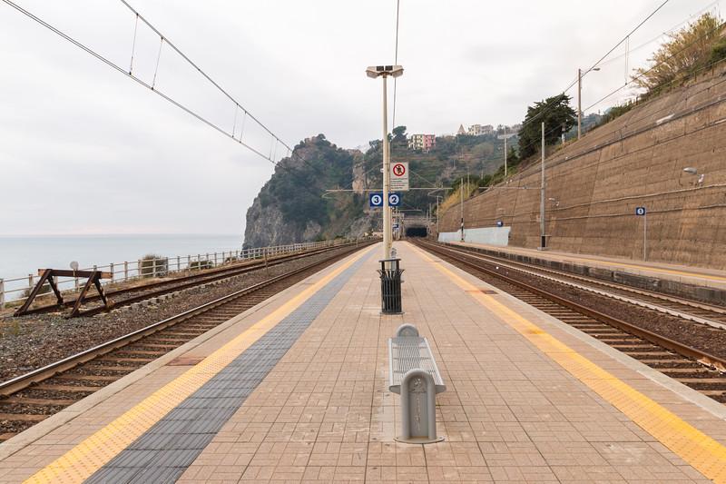 Train station, Cinque Terre, Italy