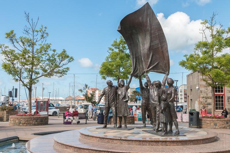 Liberation Square, Saint Helier, Jersey