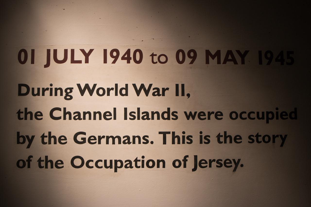 Jersey War Tunnels - Entrance