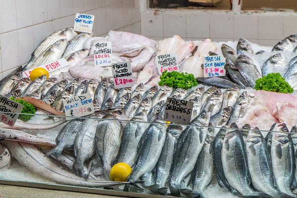 St Helier fish market