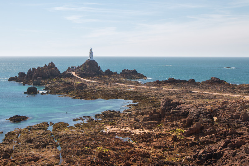 La Corbière lighthouse, Jersey