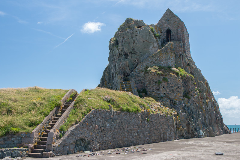 Hermitage rock, Jersey