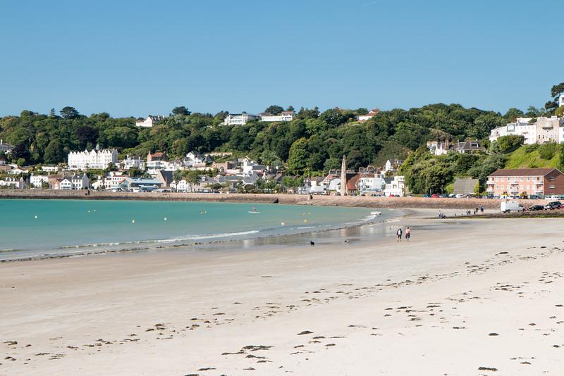 Saint Aubin bay, Jersey