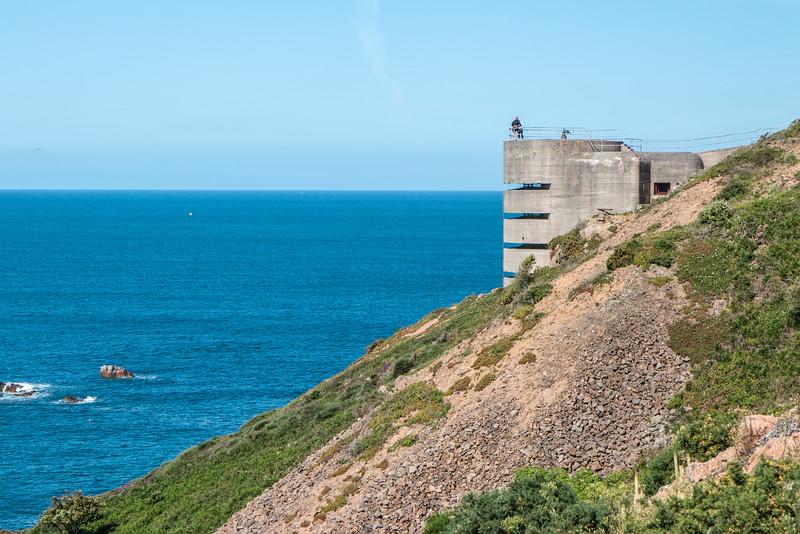 Noirmont point bunker, Jersey