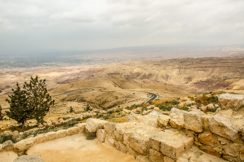 View from Mount Nebo, Jordan