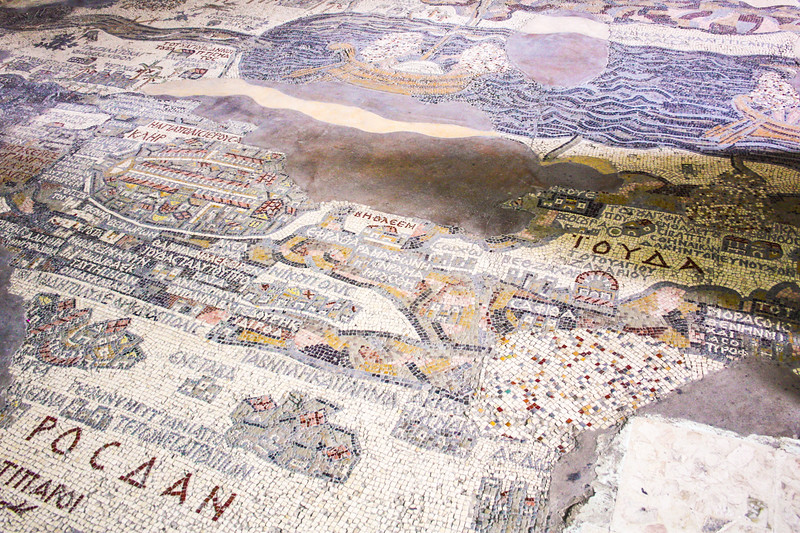 The Madaba Mosaic, Jordan