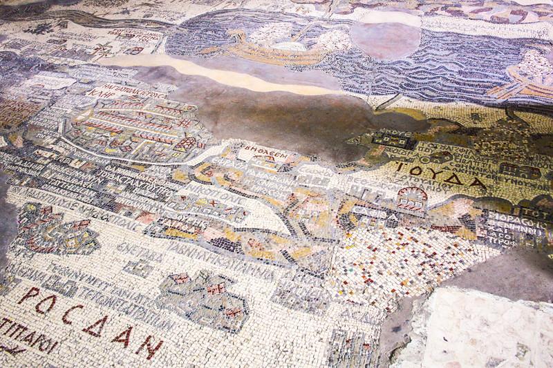 The Madaba Mosaic, Jordan