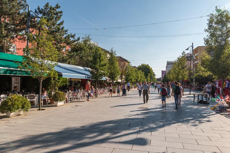 Boulevard, Pristina, Kosovo