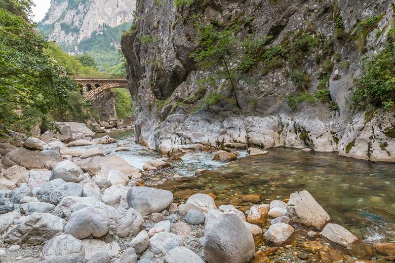 Rugova Canyon, Kosovo