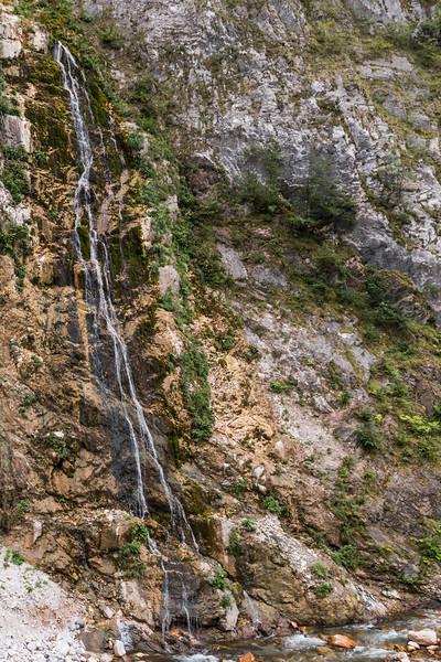 Rugova Canyon waterfall, Kosovo