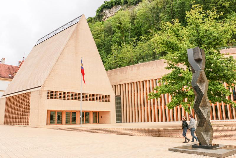 Parliament, Vaduz, Liechtenstein