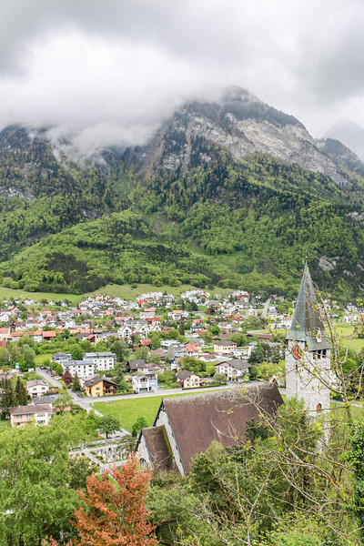 Balzers Church, Liechtenstein