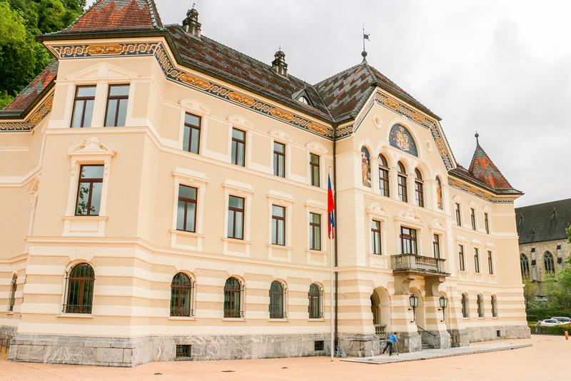 Government Building, Vaduz, Liechtenstein