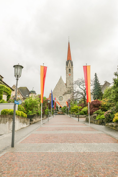 Schaan Church, Liechtenstein