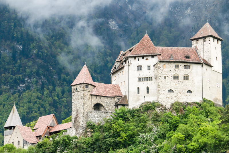 Balzers Castle, Liechtenstein