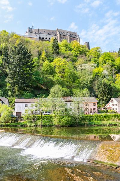 Waterfall, Vianden, Luxembourg