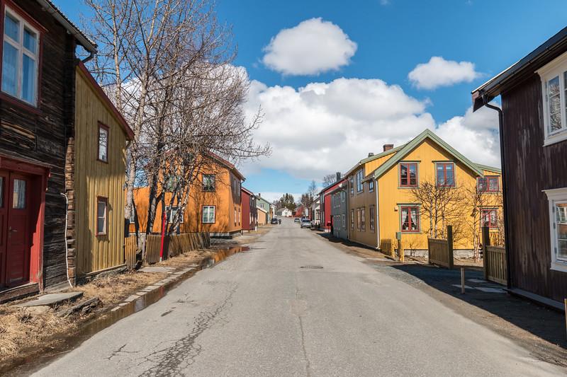 Residential area, Røros