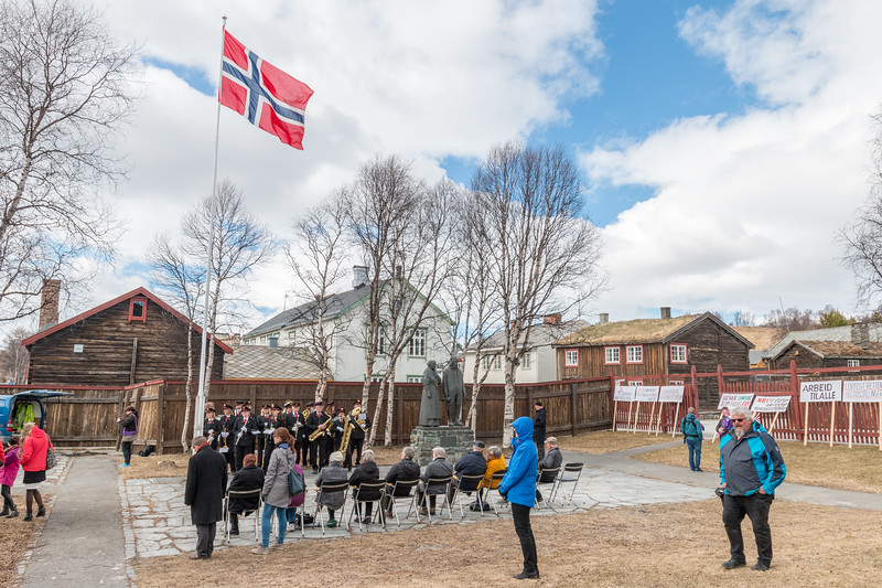 1st of May in Røros, Norway
