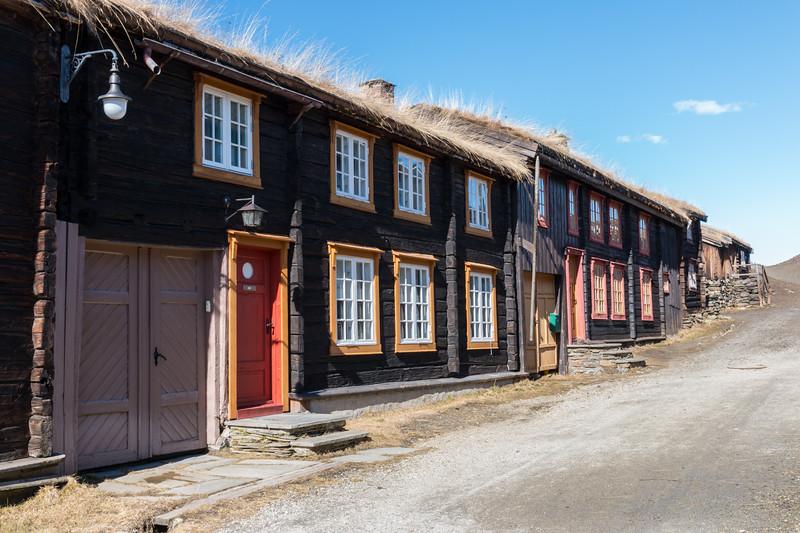 Old street, Røros