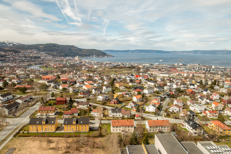 Views from Tyholt, Trondheim
