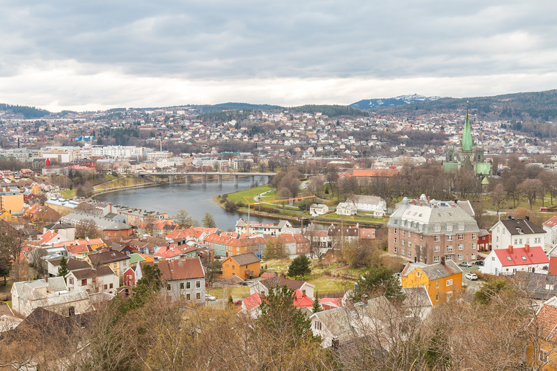 Views over Trondheim