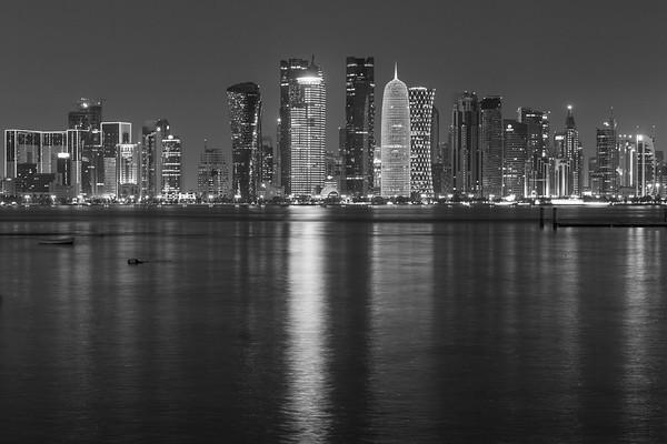 Doha at night