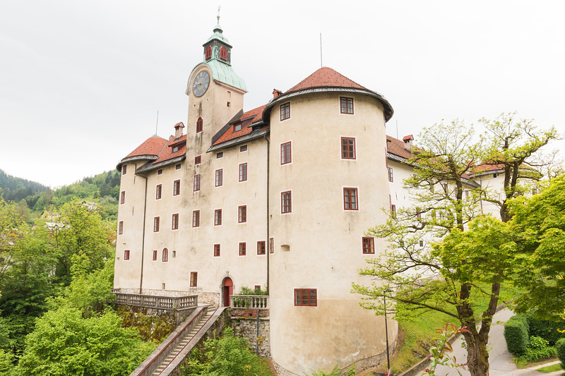 Gewerkenegg castle, Idrija, Slovenia